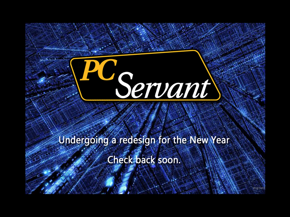 PC Servant Redesign Page